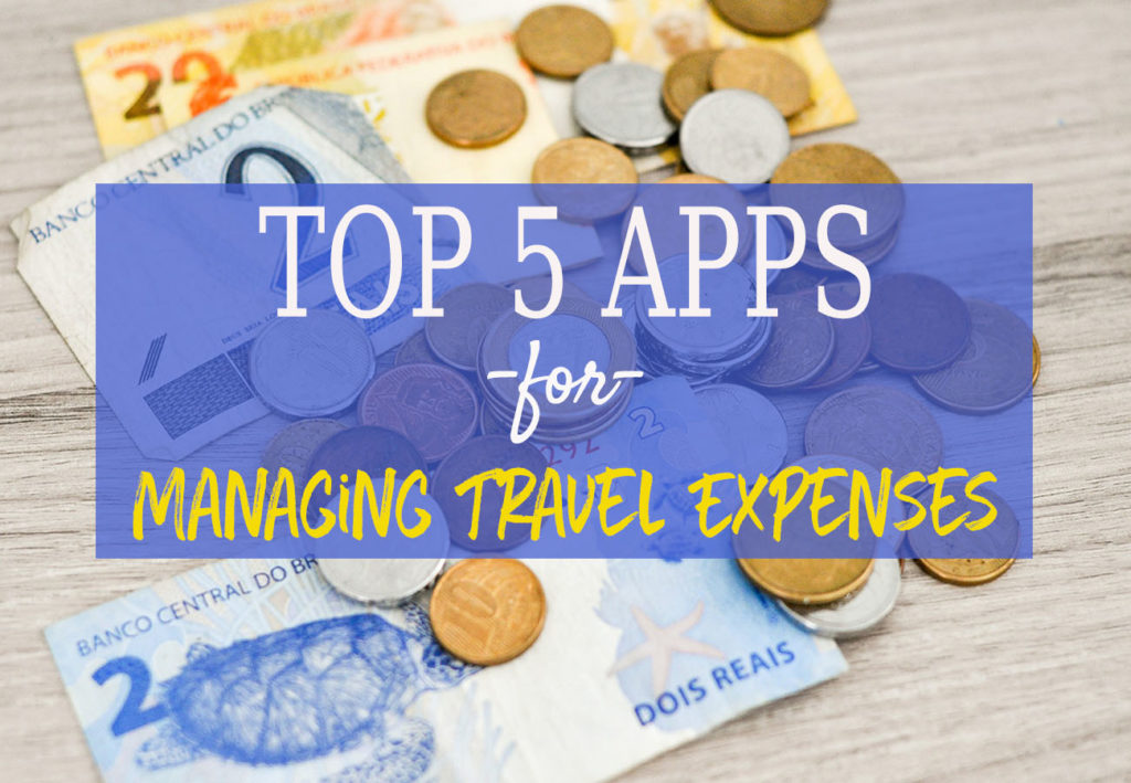 apps managing travel expenses