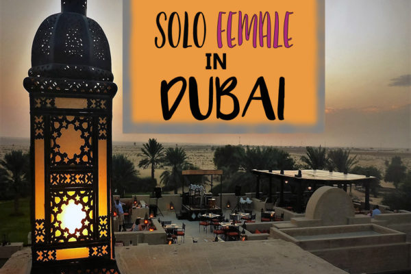 solo female travel dubai