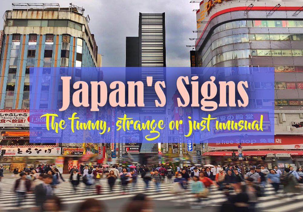 Japan's Funny Signs