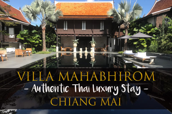 Villa Mahabhirom Chiang Mai Thailand Authentic Thai Luxury Stay