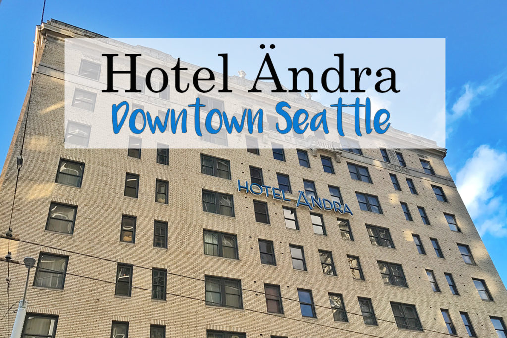 Boutique Hotel in Downtown Seattle Hotel Andra