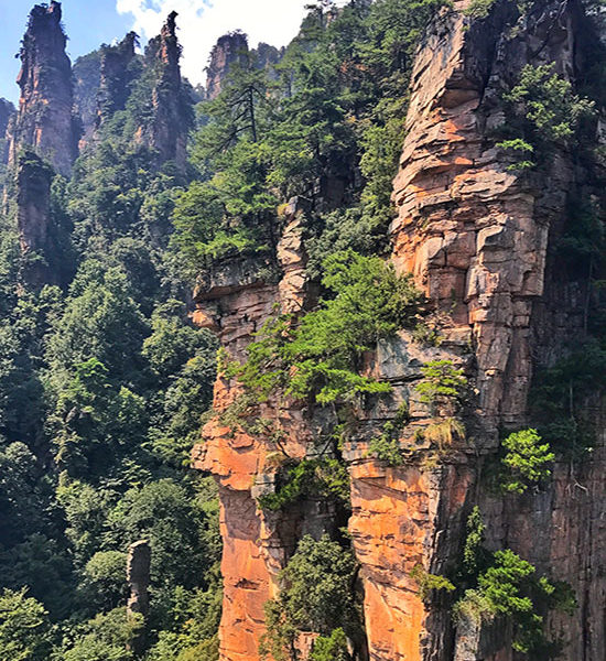 Zhangjiajie National Forest Park: The Avatar Mountains in China