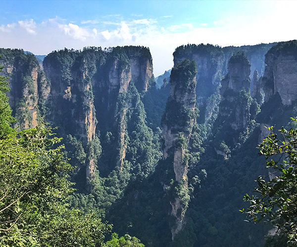 Zhangjiajie National Forest Park The Avatar Mountains In